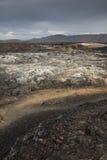 Volcano caldera Royalty Free Stock Images
