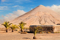 Volcano on the Canary island Royalty Free Stock Images