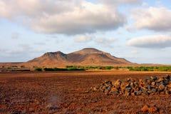 Volcano in Cape Verde Stock Photo
