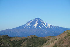 Volcano in Chile royalty free stock photography