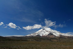 Volcano Chimborazo (6310 m). Highest peak in Ecuador, South America Stock Photography