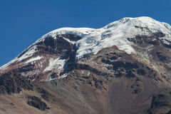 Volcano Chimborazo Stock Photography
