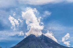 The volcano Stock Photography