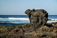 Volcano coast of Tenerife Stock Photography