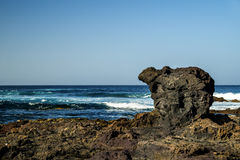 Volcano coast of Tenerife Royalty Free Stock Images