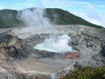 Volcano in Costa Rica Stock Photo