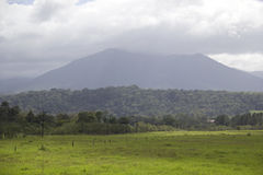 Volcano in Costa Rica. In La Selva, Costa Rica Royalty Free Stock Images