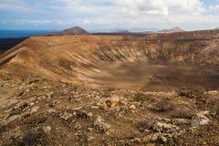 Volcano Crater Photos libres de droits