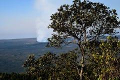 Volcano Crater Royaltyfria Foton