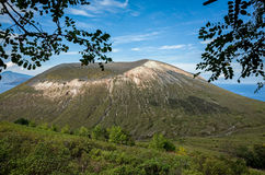 Volcano Crater Aeolian Islands Italy Stock Images