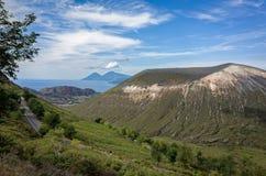 Volcano Crater Aeolian Islands Italy Royalty Free Stock Photo