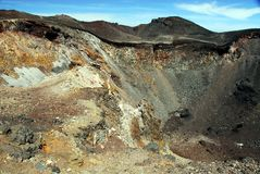 Volcano crater Stock Images
