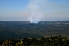 Volcano Crater Royalty Free Stock Image