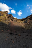 Volcano crater Stock Photos