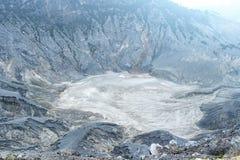 Volcano Crater in Tangkuban Parahu Bandung Indonesia Stock Photos