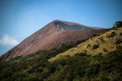 Volcano Crater, Telica, Nicaragua Immagine Stock Libera da Diritti