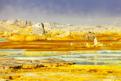 Volcano Dallol, Ethiopia Stock Images