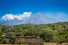Volcano de Fuego Stock Photos