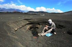 Volcano Desert Fotografia Stock Libera da Diritti