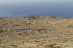 Volcano on El Hierro Island Stock Photo