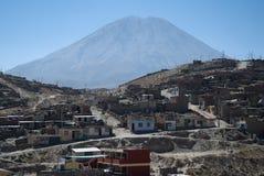 Volcano El Misti, Arequipa, Peru royalty free stock photos
