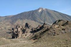 Volcano El Teide di Pico del Teide Fotografia Stock Libera da Diritti