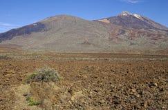 Volcano El Teide, island Tenerife, Spain. Royalty Free Stock Image
