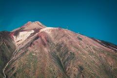 Volcano El Teide in National Park of Tenerife island, Canary Islands, Spain Stock Image