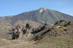 Volcano El Teide of Pico del Teide Royalty Free Stock Photography