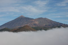 Volcano El Teide, Tenerife Royalty Free Stock Images