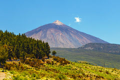 Volcano El Teide in Tenerife, isole Canarie fotografia stock