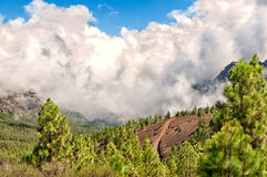 The volcano El Teide in Tenerife, Spain Royalty Free Stock Photo