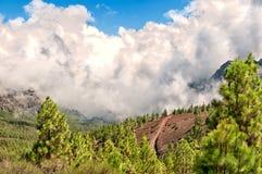The volcano El Teide in Tenerife, Spain Royalty Free Stock Photo