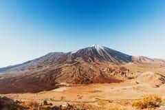 Volcano El Teide in Tenerife, Spain Stock Photography