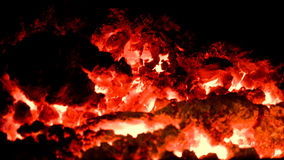 Volcano embers 3 Stock Images