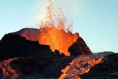 Free Volcano Eruption Royalty Free Stock Image - 3075336