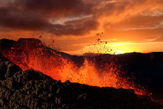 Free Volcano Eruption Stock Photography - 3205752