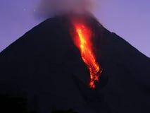 Volcano eruption Royalty Free Stock Photography