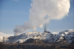 Volcano eruption, Iceland Royalty Free Stock Photography