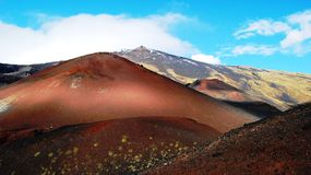Volcano etna Royalty Free Stock Photos