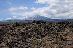 Volcano Etna. Stock Images