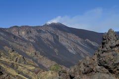 Volcano Etna Fotografia Stock