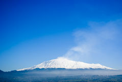 The volcano Etna Royalty Free Stock Image