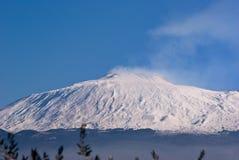 Volcano Etna Stock Images