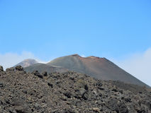 Volcano Etna in Catania Sicily. A nice view of the Etna volcano in Sicily stock photography