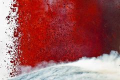 Volcano Etna Eruption Stock Photo