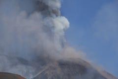 Volcano Etna eruption Royalty Free Stock Image