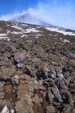 Volcano Etna. Royalty Free Stock Photo