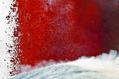Volcano Etna utbrott Arkivfoto