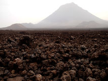 Volcano Fogo Fotografía de archivo